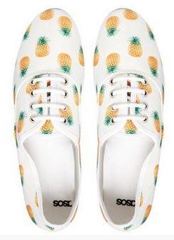 pineapple sneakers