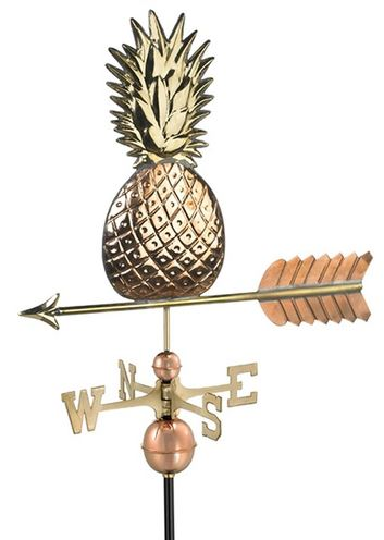 pineapple weather vane