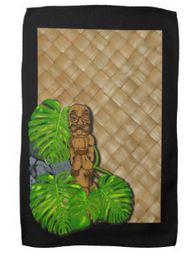 tiki kitchen towels