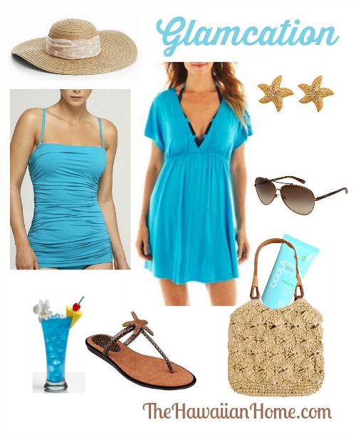 glamcation vacation look