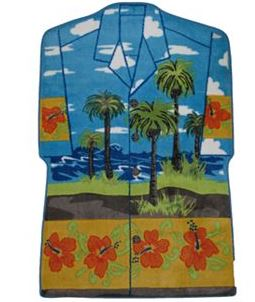 hawaiian shirt rug on sale