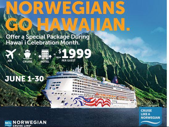 Norwegian hawaii cruise deal