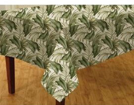 palm tree tablecloth