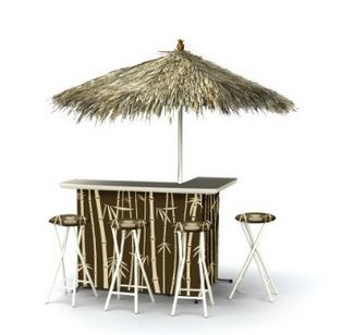 affordable tiki bar
