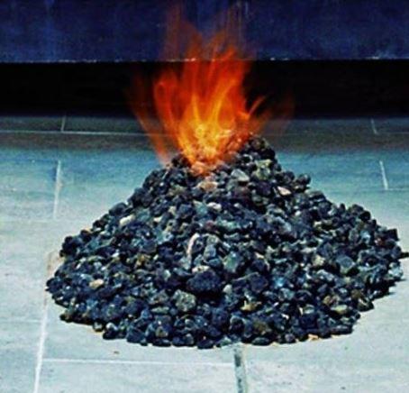 lava pit fire