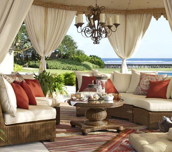 tropical teak sofa on sale