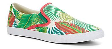 palm print sneakers