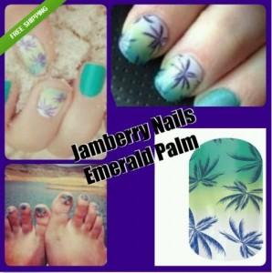 palm nail wraps