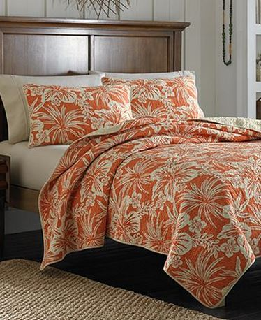 tommy bahama hibiscus quilt