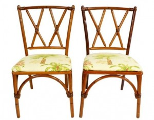 tropical bamboo chairs on sale