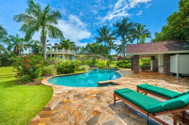 amazing hawaiian home pool