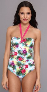 women's tropical print swimsuit on sale
