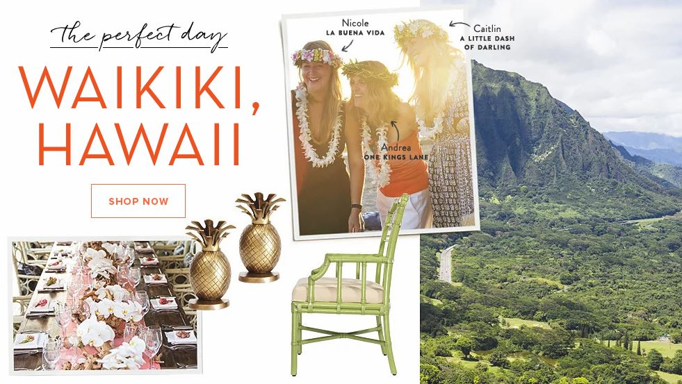 hawaiian furniture event