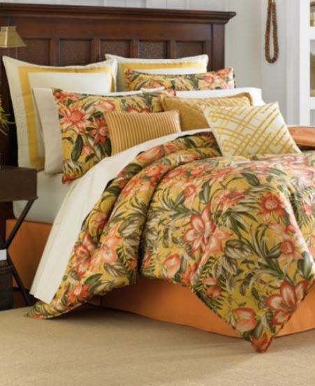 tropical lily bedding