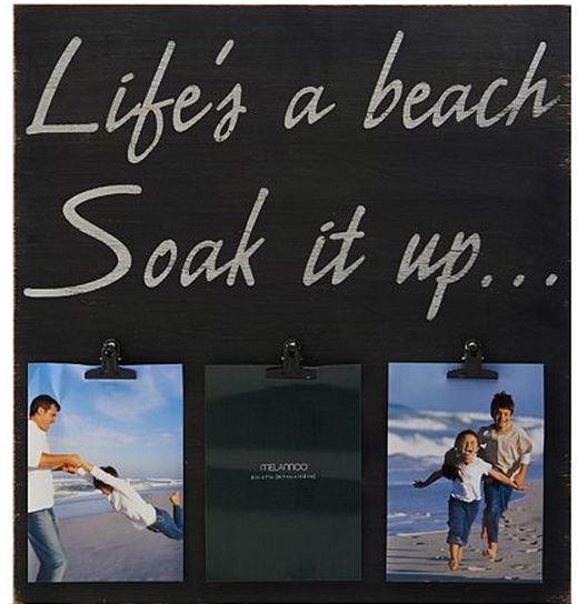life's a beach frame