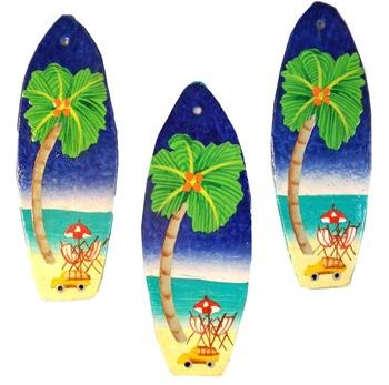 surfboard Christmas ornaments