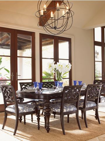 tommy bahama tropical dining set
