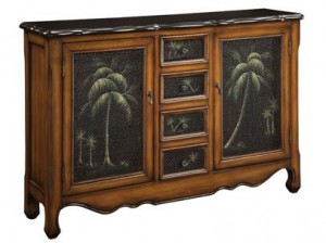 palm tree cabinet on sale