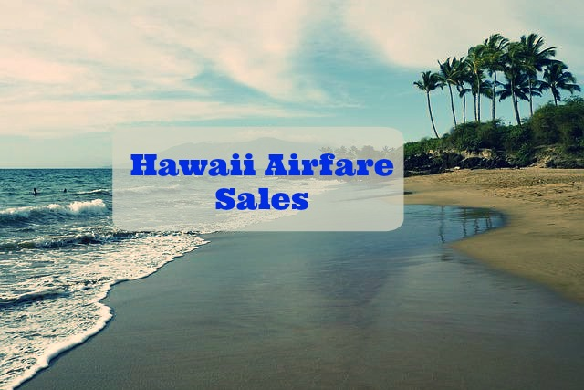 hawaii airfare sales