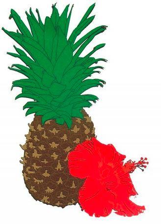 pineapple die cuts