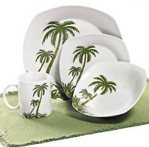 palm tree dishes