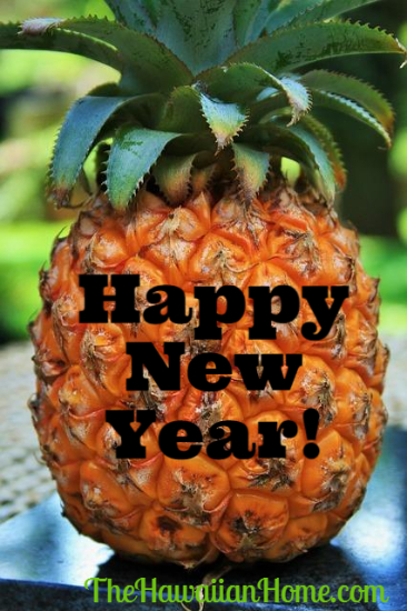 happy new year pineapple