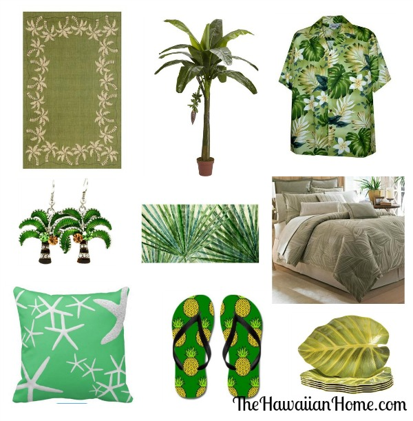 tropical green products
