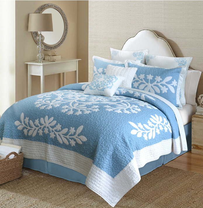blue hawaiian quilt