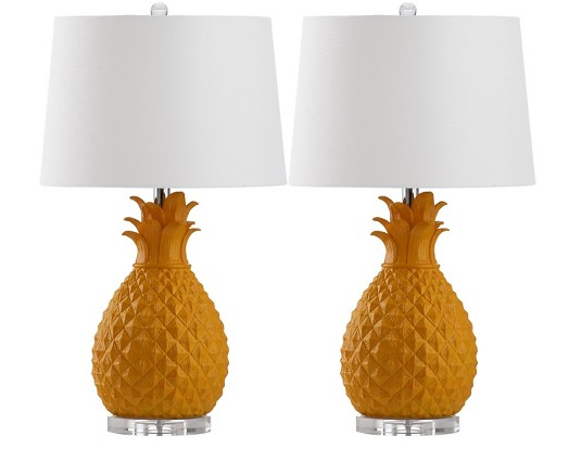 pineapple table lamps