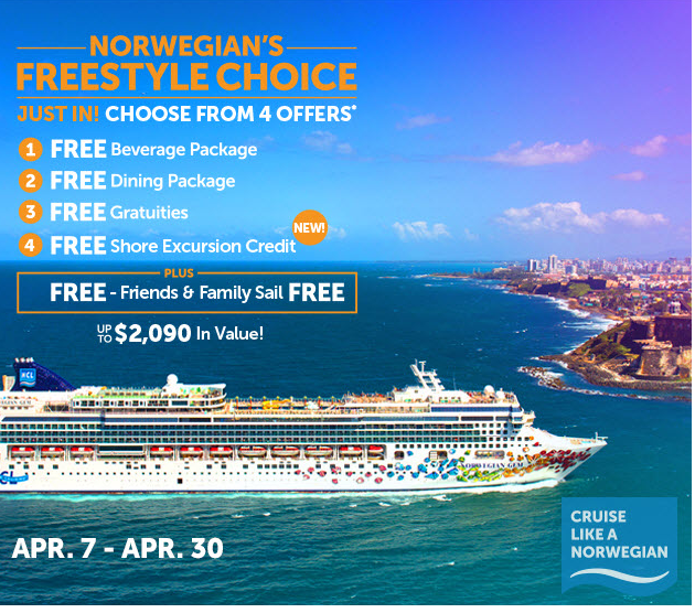 norwegian Hawaii cruise deal