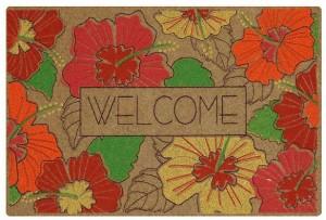 hibiscus rug on sale