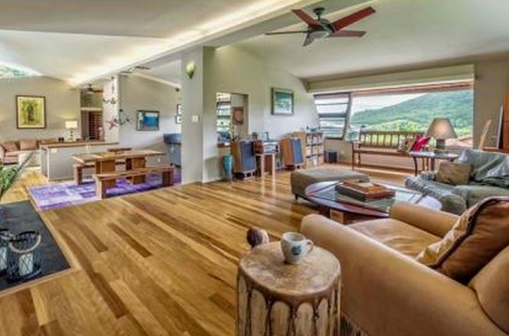 hawaiian living room