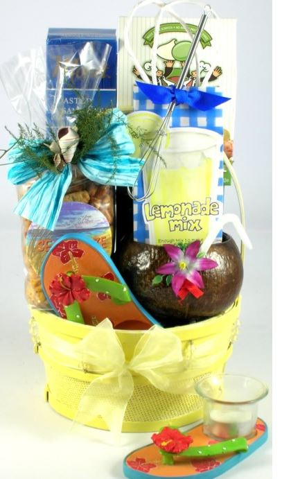 tropical gift basket