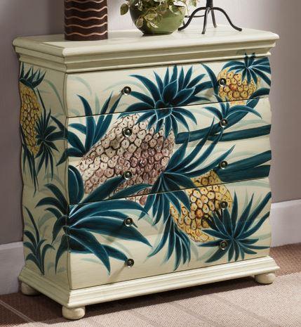 pineapple dresser