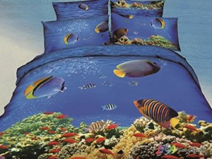 tropical fish bedding
