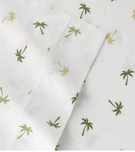 palm tree sheets