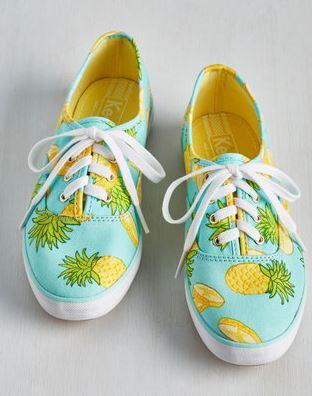womens pineapple sneakers