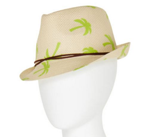palm tree fedora