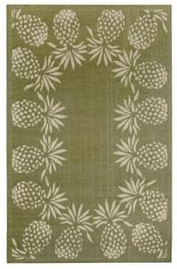 maui pineapple rug