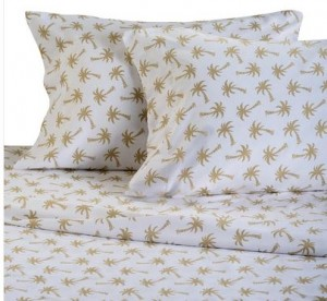 king size palm tree sheets