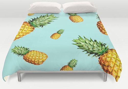 pineapple duvet