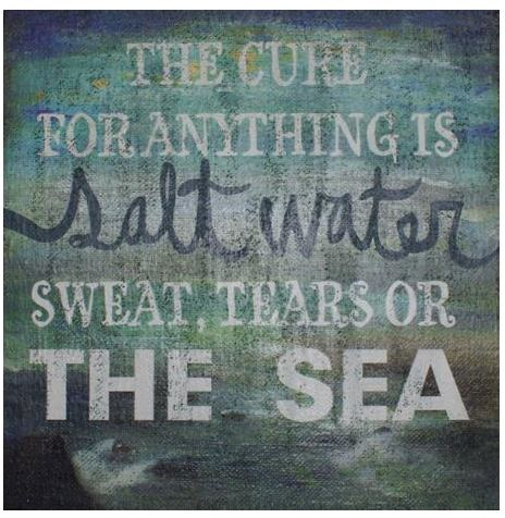 salt water cures everthing