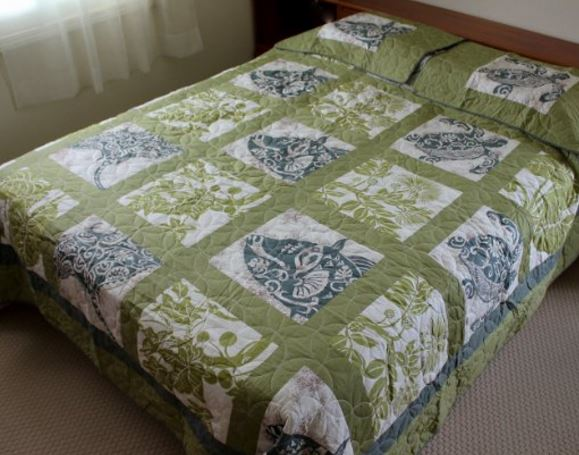 green sea turtle bedding