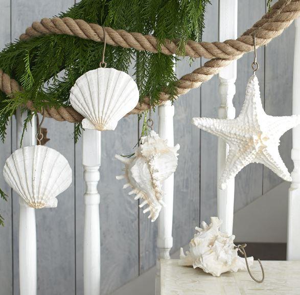 seashell garland