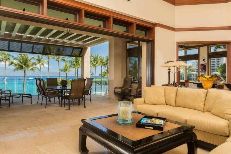 hawaiian living room design