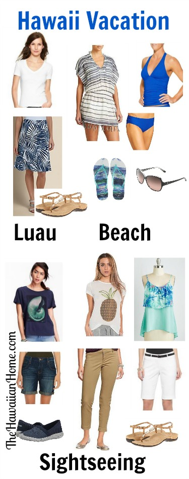 women's what to wear to hawaii