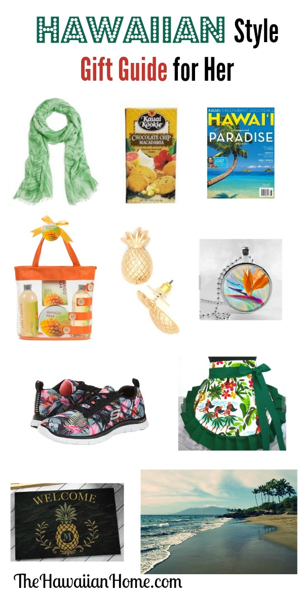 hawaiian style gift guide for her