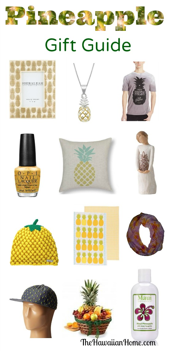 pineapple gift guide