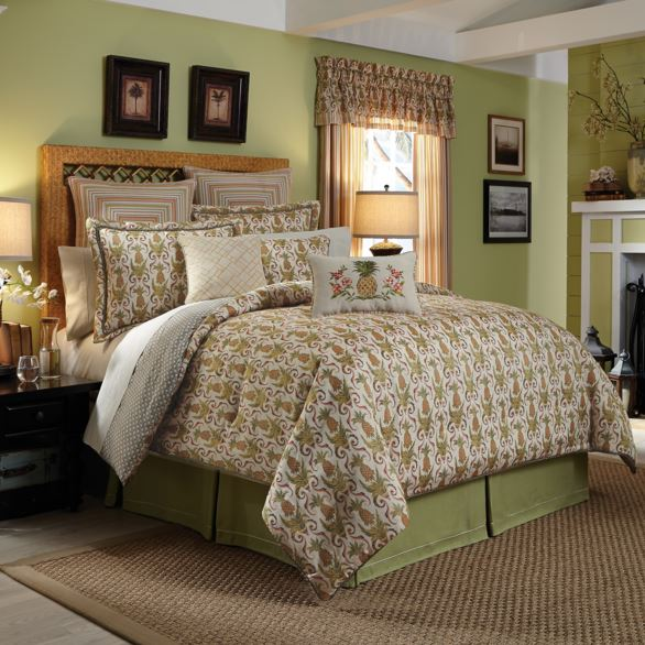 croscill pineapple comforter