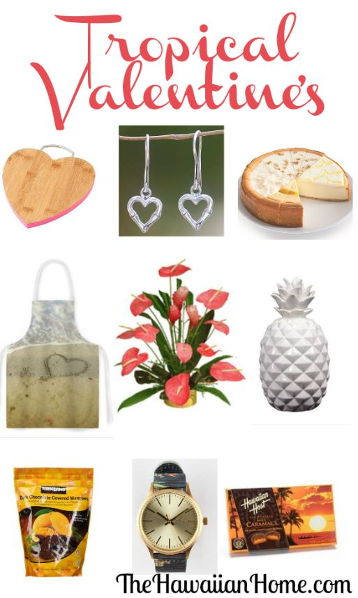 tropical valentine's day gifts